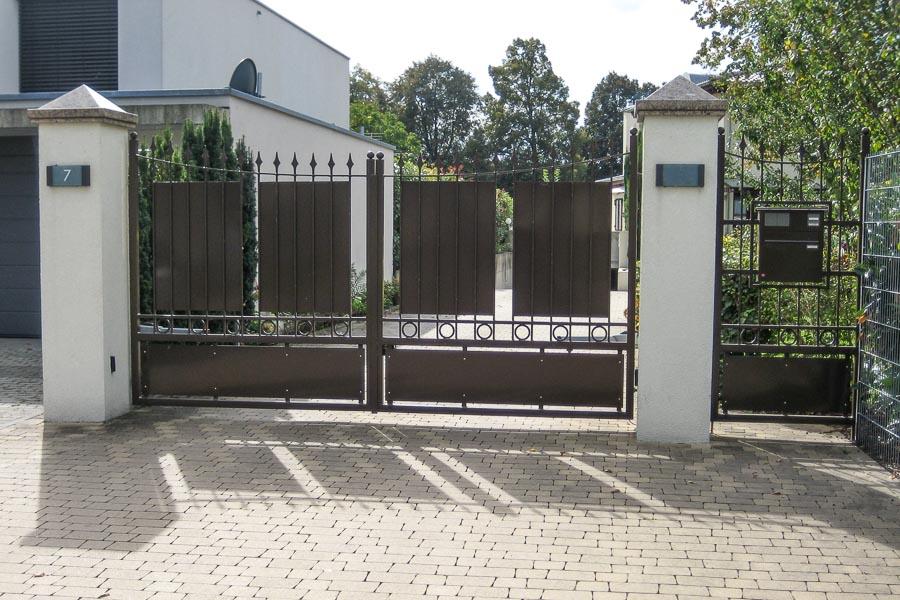 Hummel, Metallbau, Zaunanlagen, Toranlagen, Garagen, Kehl, Leutesheim